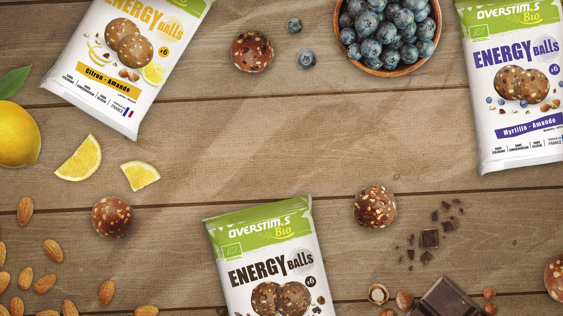 Introducing our organic Energy balls - Healthy and tasty snacks | OVERSTIM.s