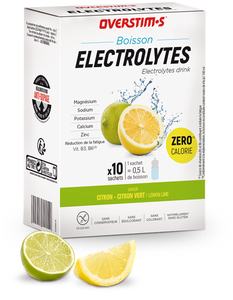 Zero calorie electrolyte drink