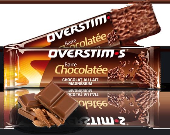 Chocolate-magnesium bar