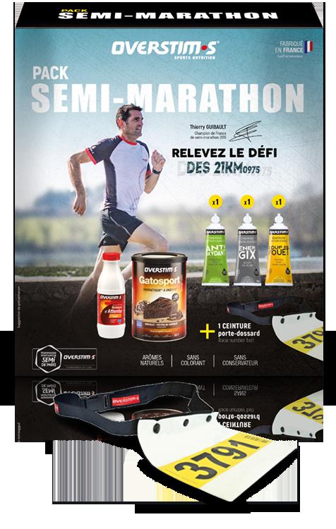 Semi-marathon pack